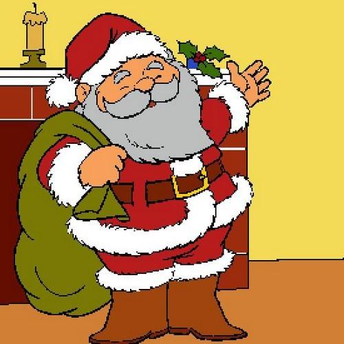 Babbo Natale Disegni Colorati Boston Terrier