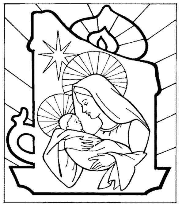 L'usignolo : Disegni Presepi Di Natale, Da Stampare E Colorare
