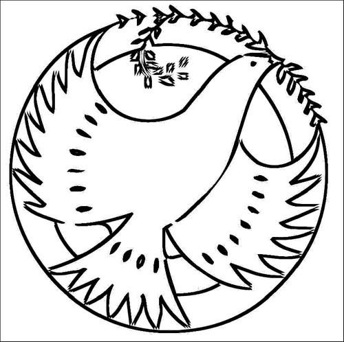 L 39 usignolo disegni colomba di pasqua da colorare for Disegni da colorare di pasqua