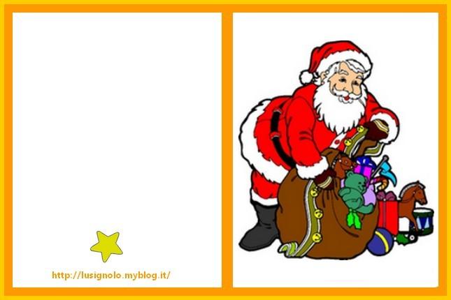 Cartoline Di Natale Da Stampare.L Usignolo Biglietti Di Natale Da Stampare