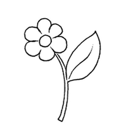 L 39 usignolo disegni fiori da colorare for Disegni da stampare e colorare fiori