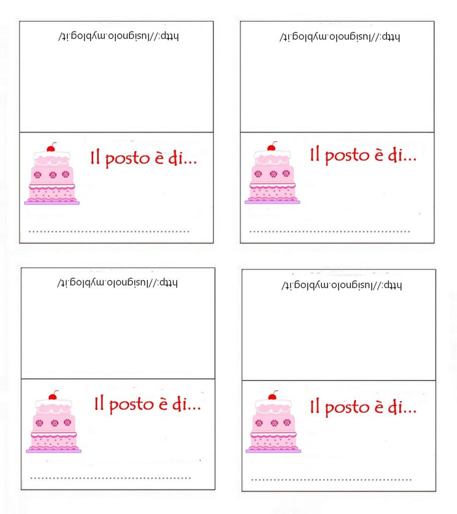 Favoloso Etichette Compleanno Da Stampare VS16 » Regardsdefemmes NA84