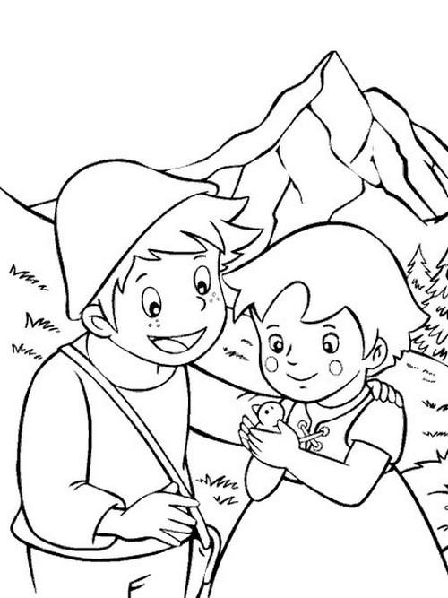Disegni da colorare e stampare di cartoni animati fare for Disegni di cartoni animati